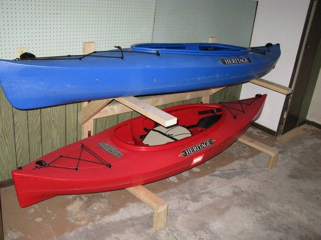 Awesome How to Store A Kayak In the Garage