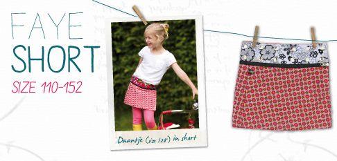 Faye short #FairlyTraded #Skirt #OneSize #Kids