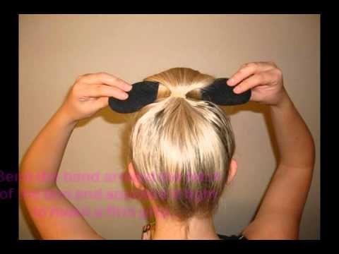 Easy Bun Hair Bun Maker - Girls Deals - YouTube