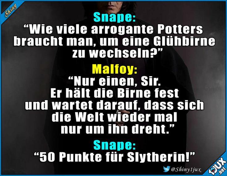 Jetzt dreht Snape den Spieß mal um! :P #Potterliebe #Witz #Witze #lustigeBilder #Sprüche #Humor
