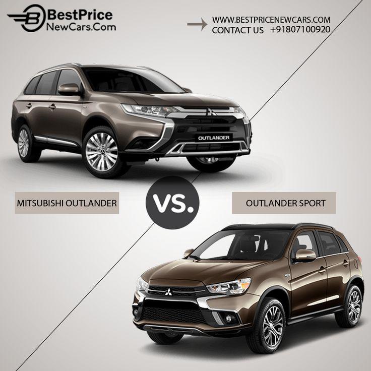Differentiate Mitsubishi Outlander Sport vs Mitsubishi