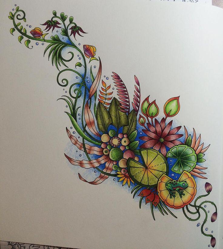 1831 Best Coloring Inspiration Johanna Basford Millie