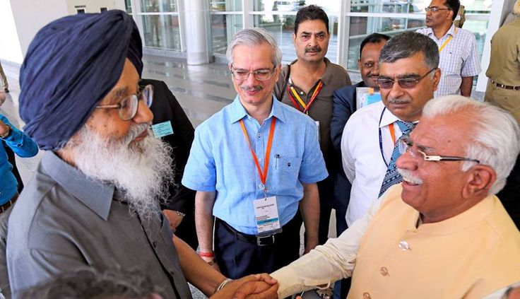 Pm modi inaugurates mohali international Airport #internationalairportmohali #mohaliairport #airportmohali #narendramodi #sukhbirsinghbadal #parkashsinghbadal