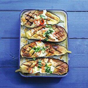 Aubergine in de oven