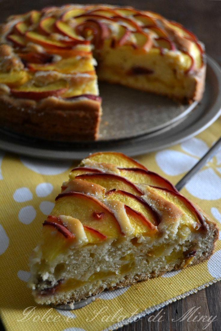 Ricetta torta fiore di pesche  Dolce e Salato di Miky