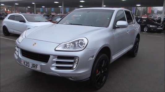 Used 2008 ( reg) Silver Porsche Cayenne Porsche Cayenne S  Tiptronic S for sale on RAC Cars