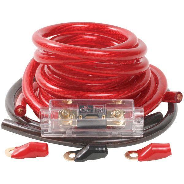 DB Link PK0Z Power Series 0-Gauge Amp Installation Kit