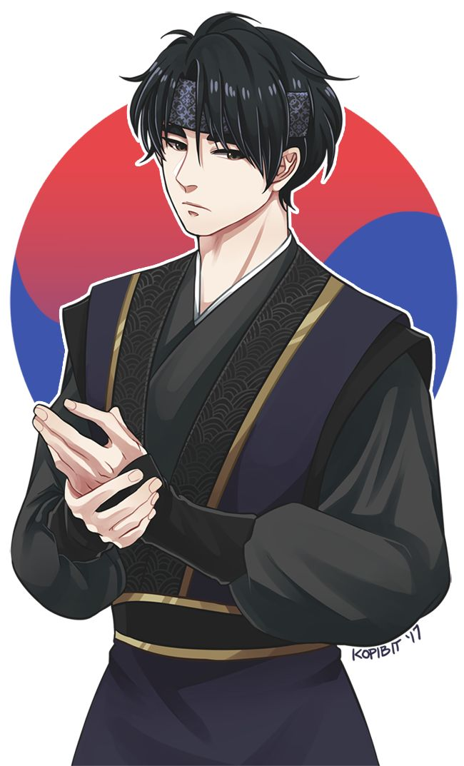 Commission for onnano-hito! Seung Gil in hwarang clothing! I had so much fun with this ✨✨✨ EDIT: Changed background!
