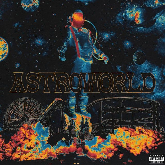 Travis Scott Astroworld Fakealbumcovers In 2020 Travis Scott Wallpapers