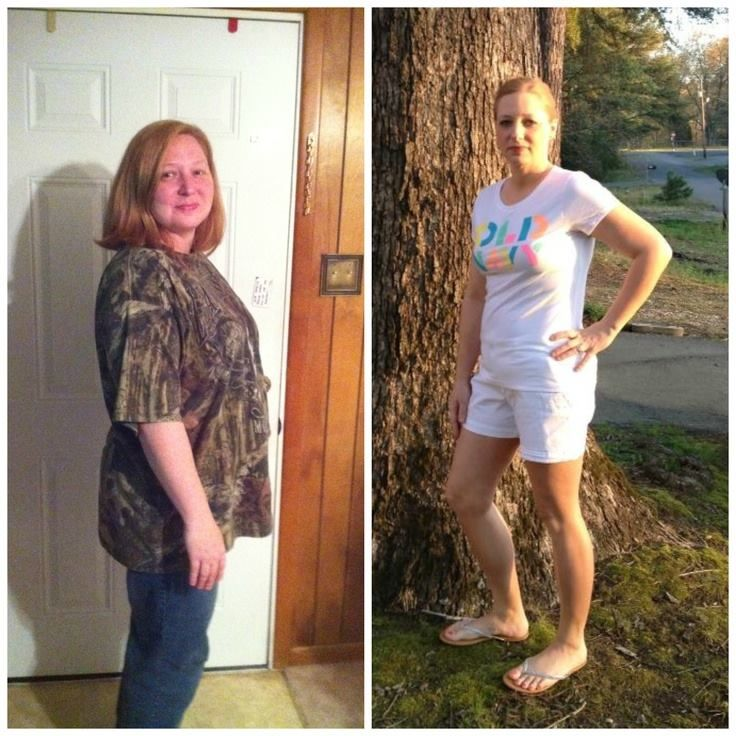 Before & After weight loss with the HCG diet. Incredible results!
