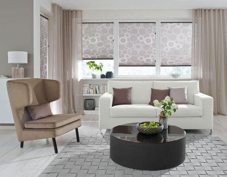 barock gardinen vorhange weiss halbtransparent wohnzimmer. schner, Wohnzimmer