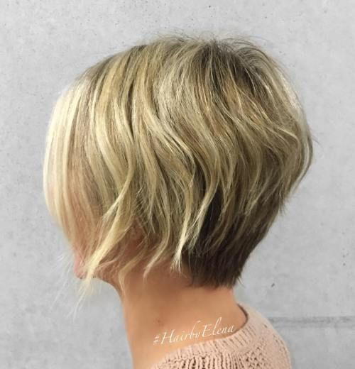 haircuts bobs 50 and easy to style layered hairstyles bobs 1779