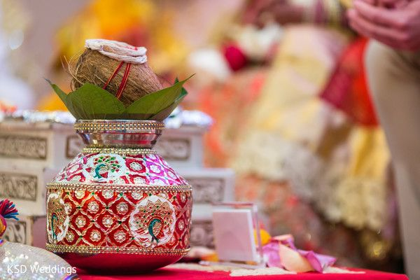 Traditional hindu wedding ceremony items. http://www.maharaniweddings.com/gallery/photo/122989