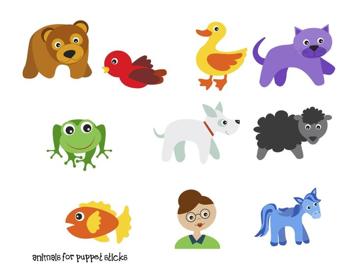 Preschool Printables: Brown Bear Fun Printable