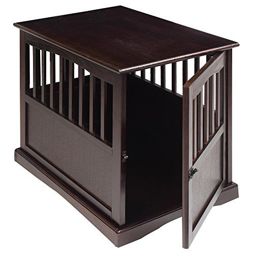 These wooden dog crates are constructed of 100-percent solid wood a sustainable substitute for natural forest wood.beautiful design doubles as a fine piece of furniture.our furniture dog crates provi...