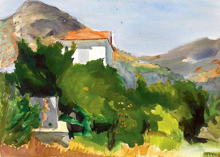 Landscape Panayiotis Tetsis