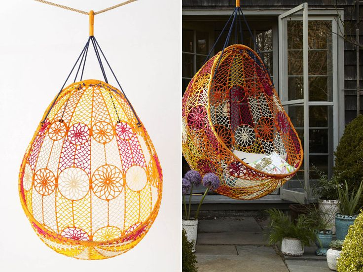 Amazing Peace Pod to hang out in, like a massive dream catcher, just beautiful!