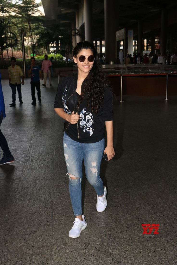 Mumbai: Saiyami Kher seen at airport - Social News XYZ