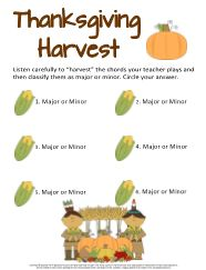 9 best Thanksgiving Music Worksheets images on Pinterest | Music ...