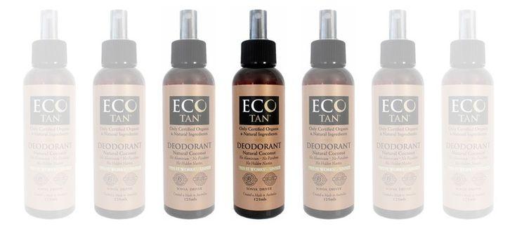 Introducing Eco Tan Organic Coconut Deodorant