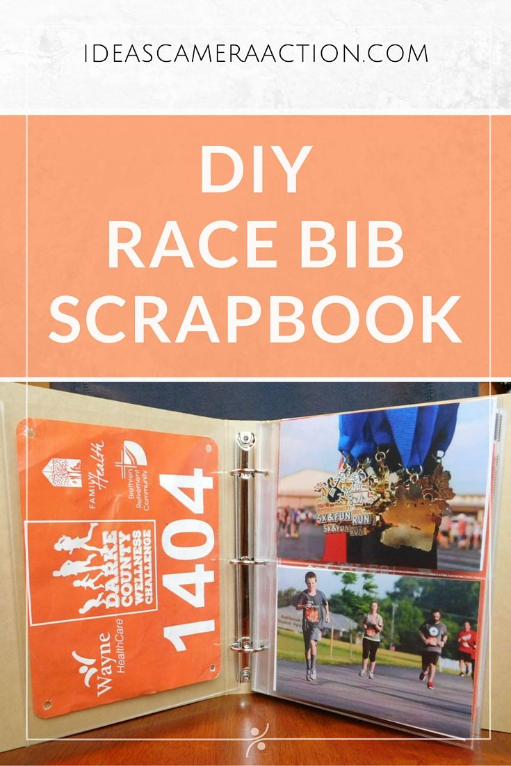 Here's how I made my race bib scrapbook/holder/display/whatchamacallit. Since I started running, I started running in 5ks. I've won a couple medals, but I've kept all of my racing bibs. I felt bad for them though – I didn't have a place to put them so they've been just storing in a drawer for nearly …