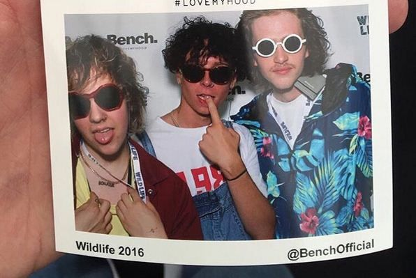 Look at the boys from #RatBoy wearing our latest styles at #Wildlife! #LoveMyHood #festivalseason