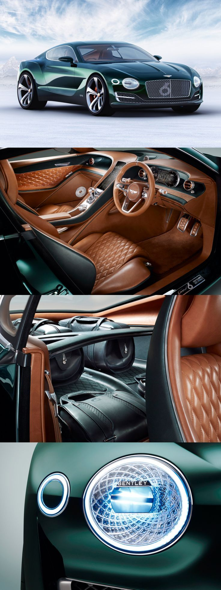 Bentley EXP 10 Speed 6 Concept #Auto