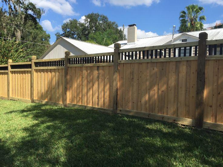 Custom Wood Privacy Fence Design By Mossy Oak Fence