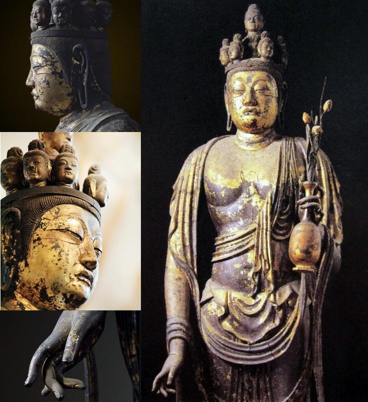 奈良 霊園山聖林寺  十一面観音立像
