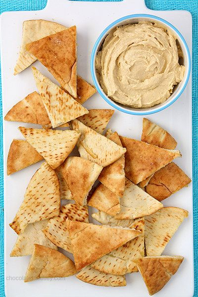 Homemade Pita Chips | 18 Delicious Homemade Chips That Are Actually Healthy