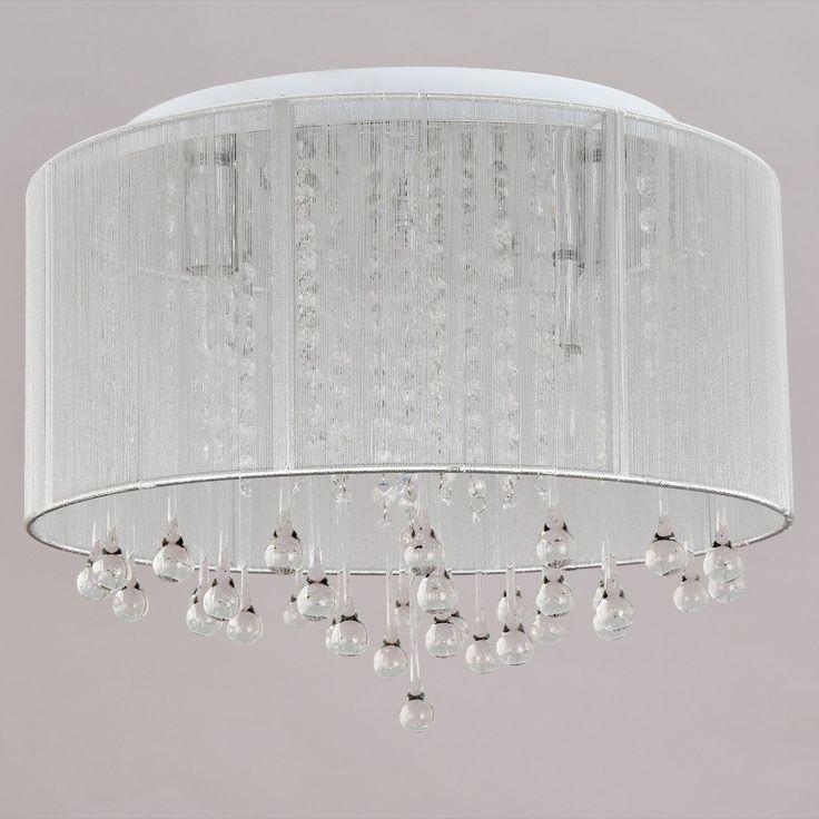 OOFAY LIGHT® Lampada da soffitto di cristallo moderno,semplice ed elegante con 6 teste Lampada da soffitto di cristallo alla moda da salone Lampada da soffitto di cristallo da camera da letto: Amazon.it: Illuminazione