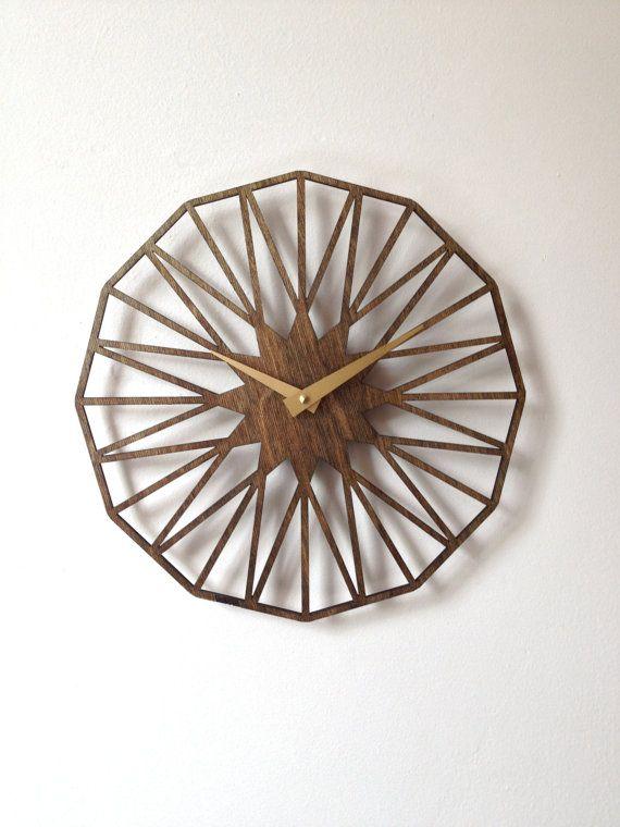 CUSTOM Star Clock on Etsy, $105.00