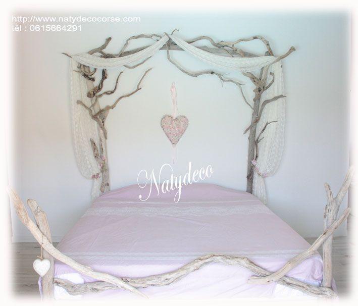1000 id es propos de t te de lit en bois flott sur pinterest id es d co - Tete de lit bois flotte ...