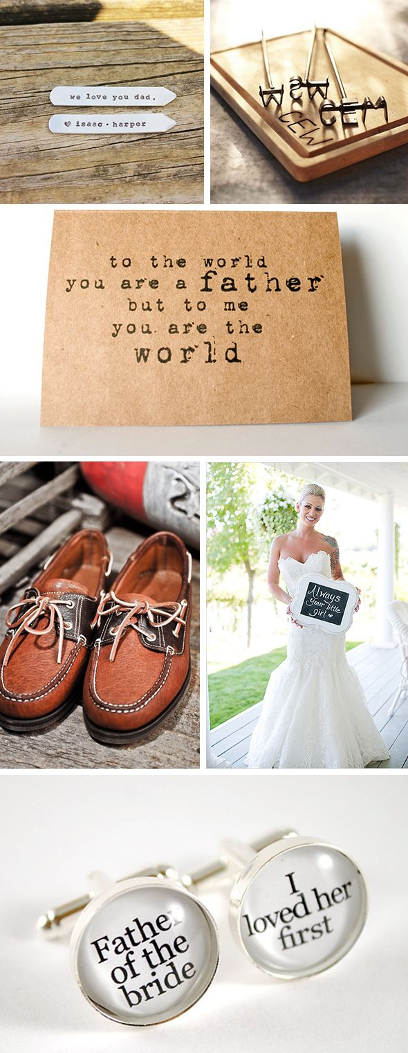 wedding gifts for dad Creative Father of the Bride Wedding Gifts