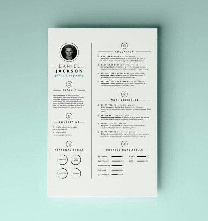 11 best cv resume voorbeelden images on pinterest. Black Bedroom Furniture Sets. Home Design Ideas