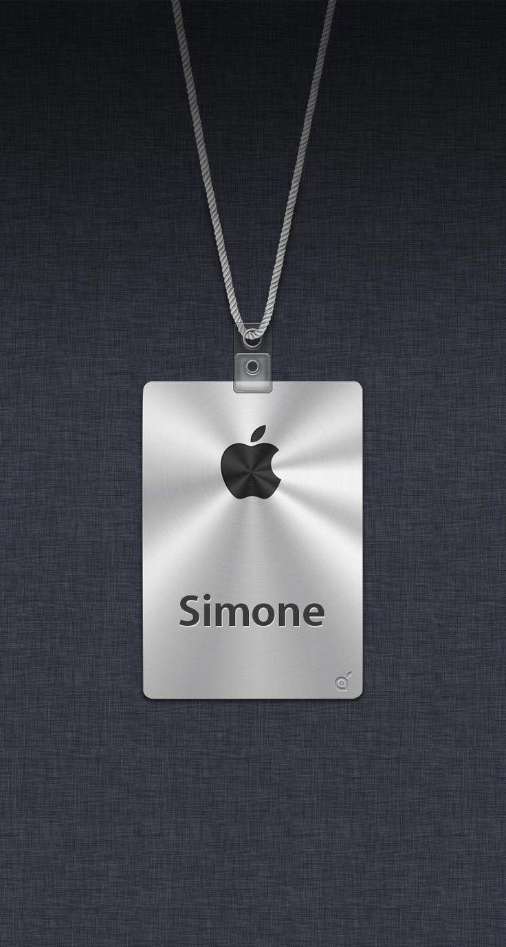 Ecco il tuo sfondo: Apple Badge   iSpazio