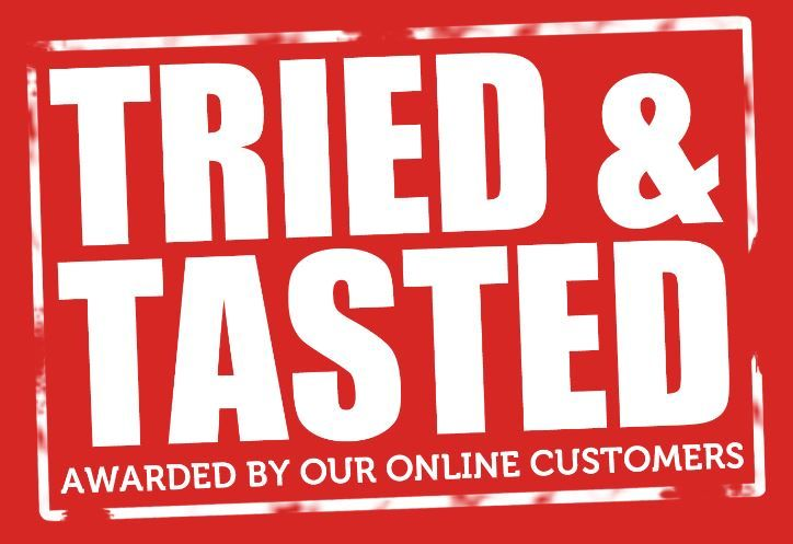 We won the tried and tasted award back in 2012, and now we have it back once again in 2014!