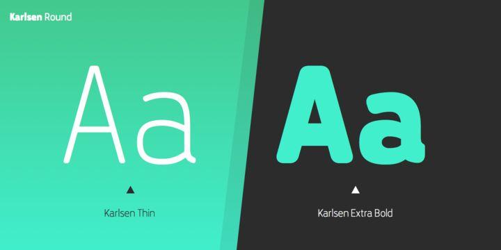 Karlsen Round - Webfont & Desktop font « MyFonts
