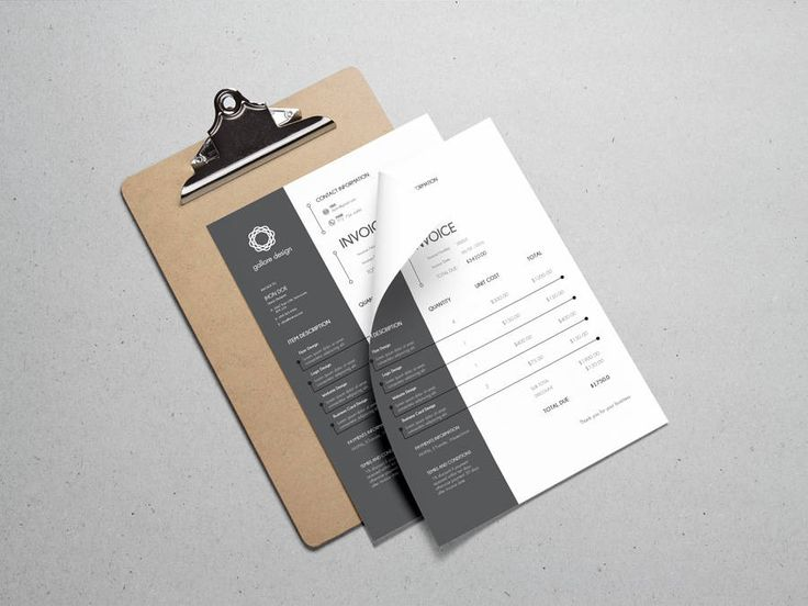 Are you ready to grow your business?. If you just started your own small business, blog or direct sales company, theres only few ways to stand out. Present yourself with the professional look your clients are hoping for, with an eye catching printable invoice template, to give your