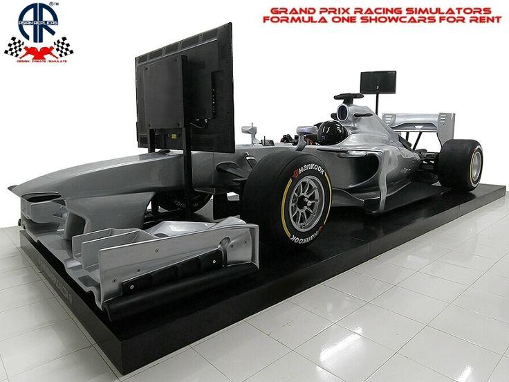 Formula One Show Cars F1 Racing Simulators Rental Hire