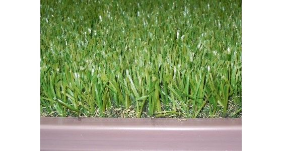 how to finish edges of artificial grass