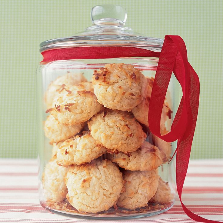 Our coconut cookies are a cross between a coconut macaroon and a chewy butter cookie. Using a food processor makes the dough a snap to prepare.