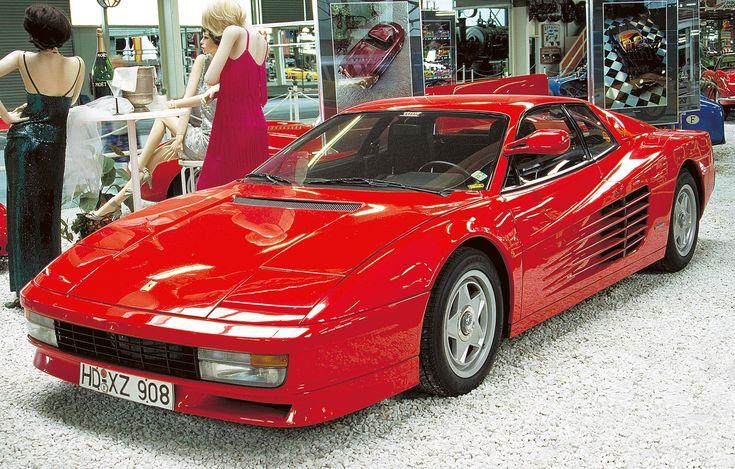 Ferrari Testarossa   AUTO & TECHNIK MUSEUM SINSHEIM