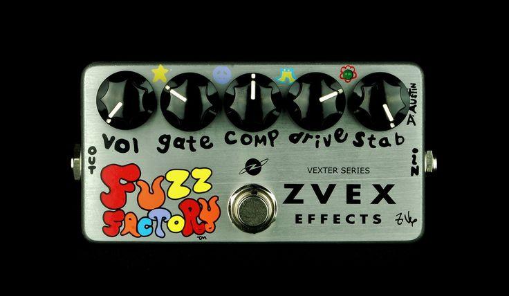 ZVex Vexter Series Fuzz Factory Distortion Guitar Effects Pedal