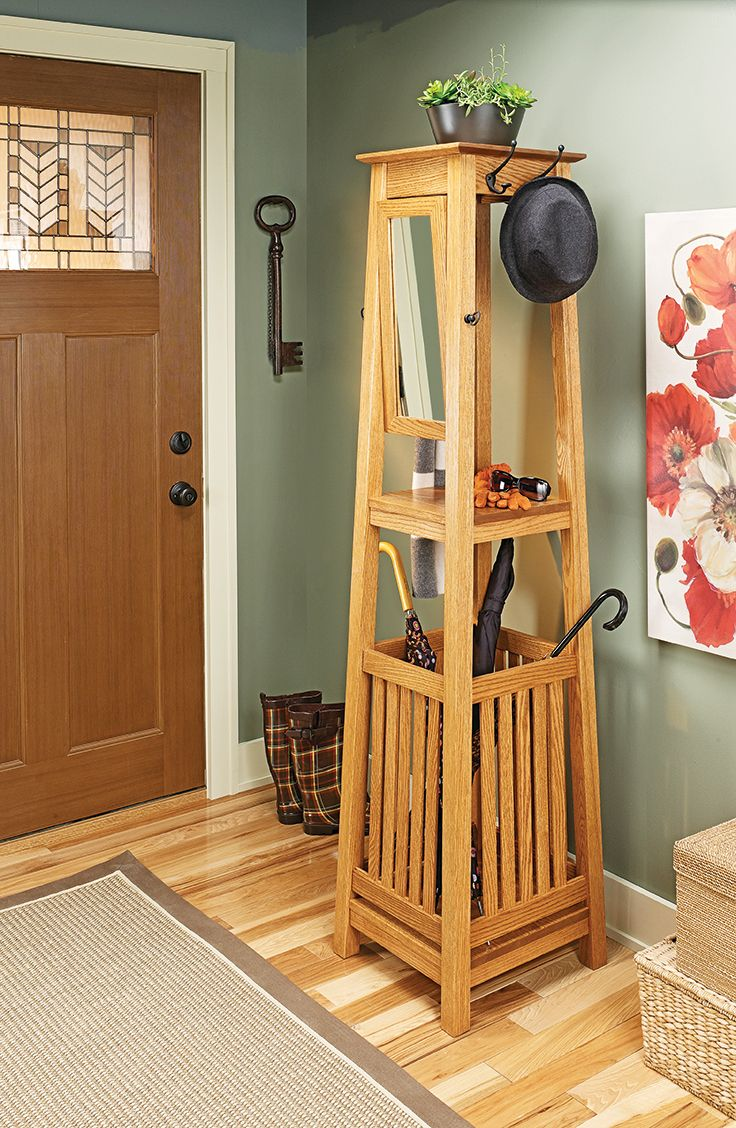 Woodsmith Diy Make An Entryway Hall Tree Coffee Table Woodworking Plans Furniture Project Plans Bookcase Woodworking Plans