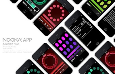 NOOKA iPhone app showcases the unique style of Nooka watches. A not so intuitive but beautiful example of looking at time.   http://www.freshnessmag.com/2012/02/10/nooka-app-a-new-way-to-look-at-time/