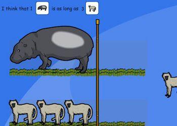 Comparing Jungle Animals (Length)