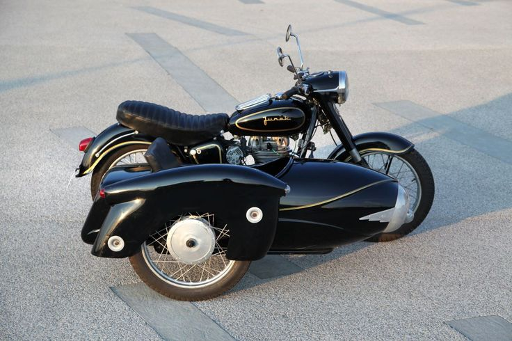 1963 Junak M10 motorcycle with sidecar