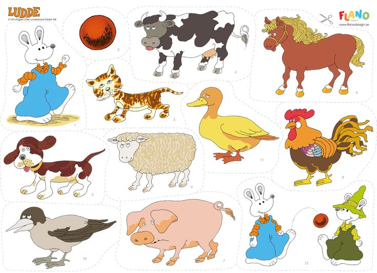 En av våra populäraste sagor är Ludde och alla djuren som är underbar på flano. Passar de mindre barnen! Ludde är tokig och rolig, en favorit bland barnen!