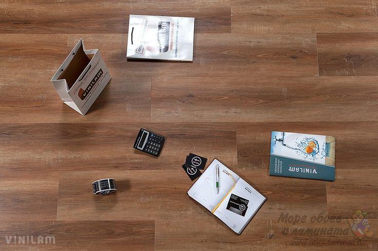 Купить замковый виниловый ламинат 5080 Дуб Сарагоса Vinilam Винилам www.oboi-laminat.ru